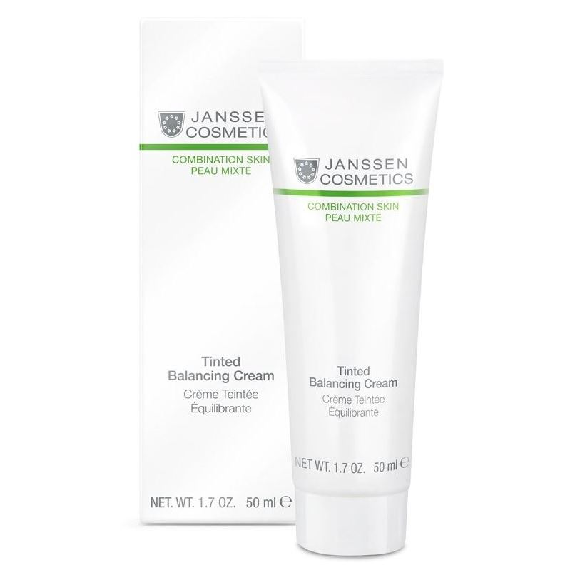 Крем Janssen Cosmetics Tinted Balancing Cream 50 мл корректоры janssen cosmetics tinted corrective balm medium