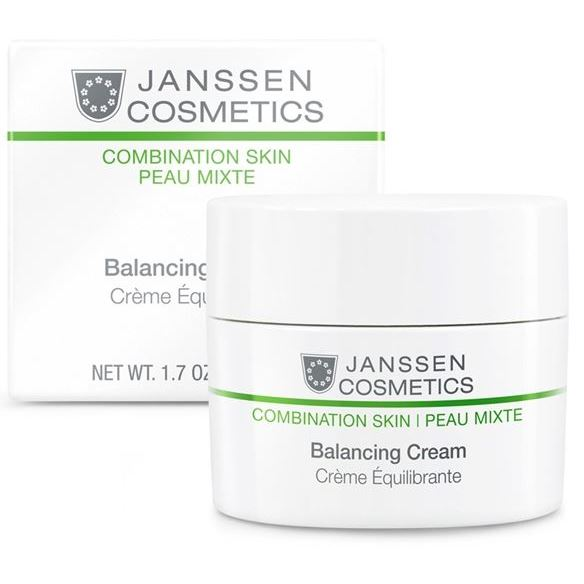 Крем Janssen Cosmetics Balancing Cream 50 мл крем janssen cosmetics detox cream