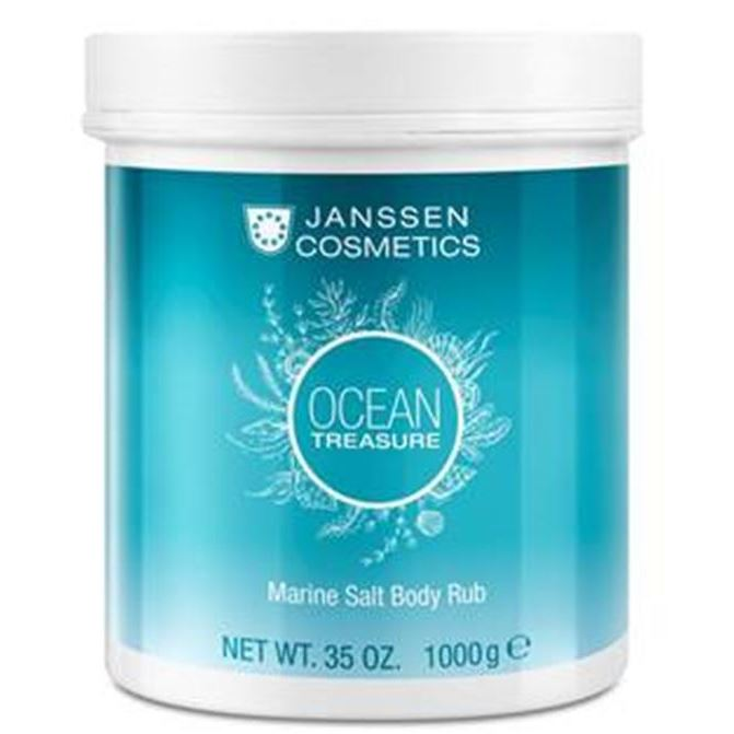 Скраб Janssen Cosmetics Ocean Treasure Marine Salt Body Rub phytomer скраб для тела toning body scrab with marine salt crystals 150мл