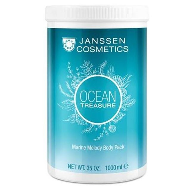 Маска Janssen Cosmetics Ocean Treasure Marine Melody Body Pack 1000 мл корректоры janssen cosmetics tinted corrective balm medium
