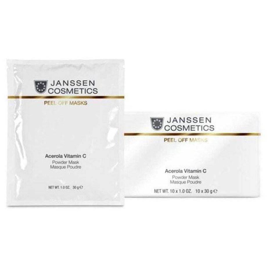Маска Janssen Cosmetics Acerola Vitamin C Mask (500 г) janssen коллагеновая биоматрица с pcm комплексом janssen dr roland sacher dermafleece collagen fleece mask pcm complex 8104 910 1 лист