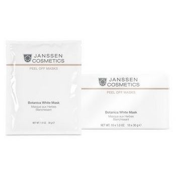 Маска Janssen Cosmetics Botanical White Mask (30 г) корректоры janssen cosmetics tinted corrective balm medium