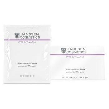 Маска Janssen Cosmetics Black Dead Sea Mask (500 г) naomi dead sea cosmetics набор по уходу за ступнями