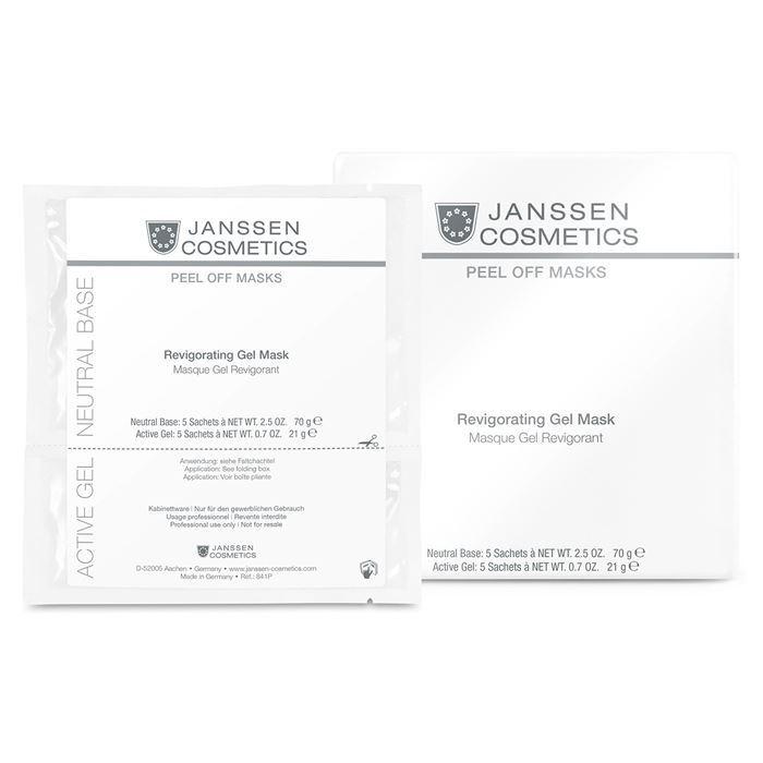 Гель Janssen Cosmetics Revigorating Gel Mask (1 саше) janssen коллагеновая биоматрица с pcm комплексом janssen dr roland sacher dermafleece collagen fleece mask pcm complex 8104 910 1 лист