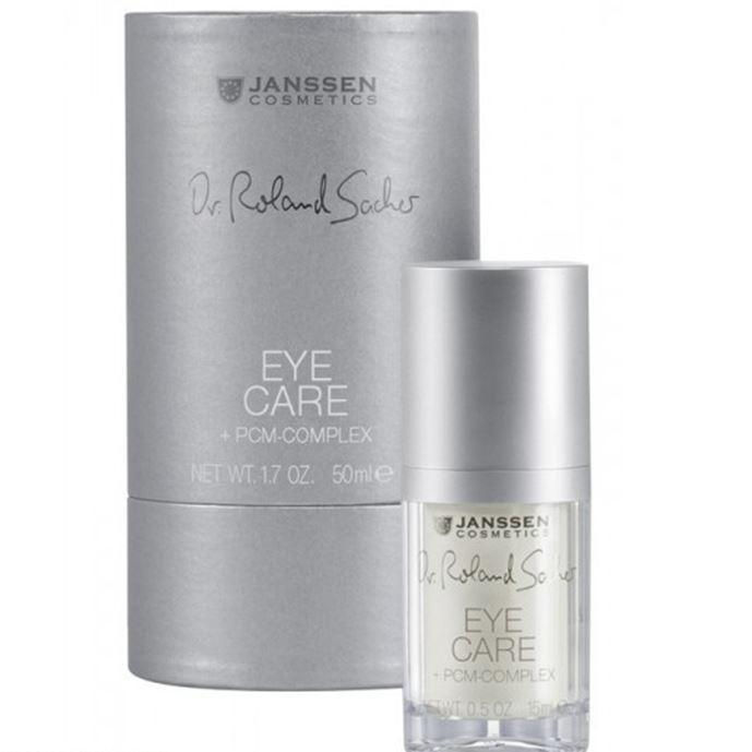 Крем Janssen Cosmetics Eye Care + PCM-Complex 15 мл janssen коллагеновая биоматрица с pcm комплексом janssen dr roland sacher dermafleece collagen fleece mask pcm complex 8104 910 1 лист
