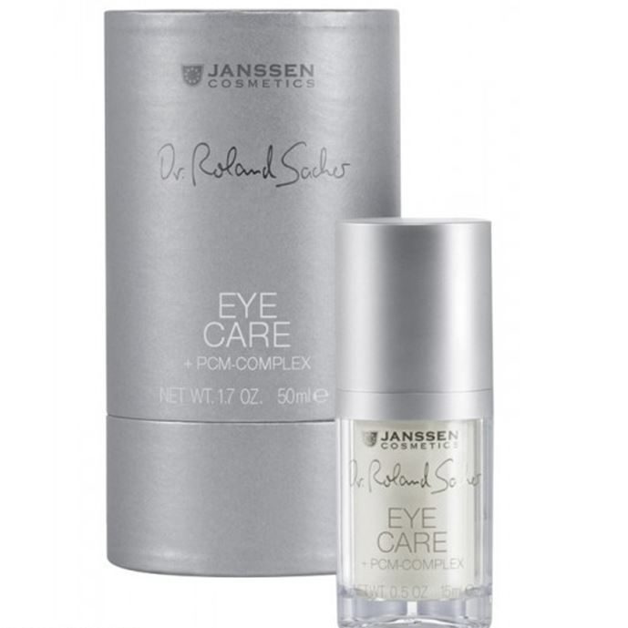 Крем Janssen Cosmetics Eye Care + PCM-Complex 15 мл markell крем актив для кожи вокруг глаз eyes care 15 г