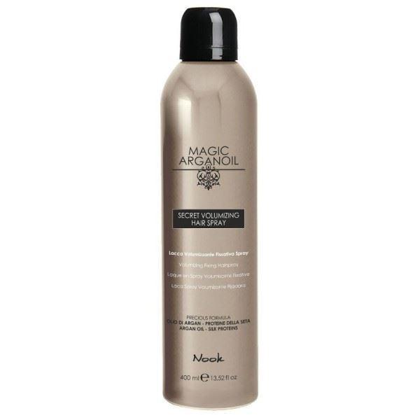 Лак Nook Secret Volumizing Hairspray 400 мл лак framesi by extreme hold hairspray 500 мл