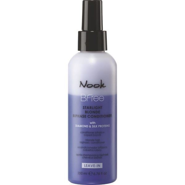 Кондиционер Nook Leave-In Starlight Blonde Bi-Phase Conditioner 200 мл кондиционер keune golden blonde conditioner объем 200 мл