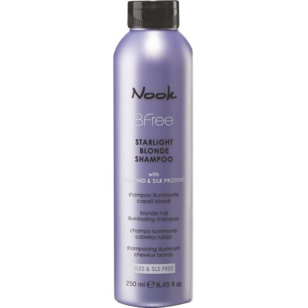 Шампунь Nook Starlight Blonde Shampoo 250 мл шампунь nook starlight blonde shampoo