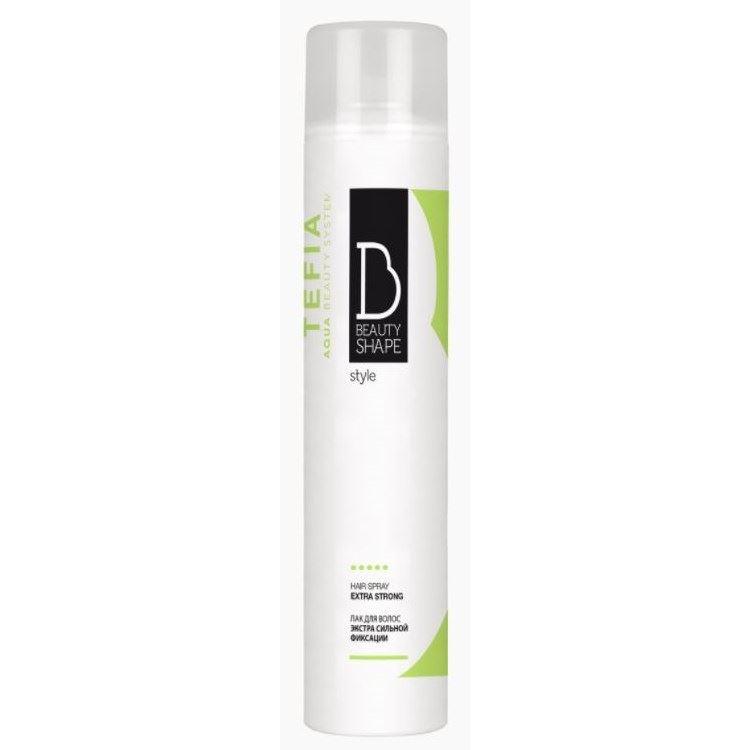 Лак Tefia Beauty Shape Style Hair Spray Extra Strong 500 мл недорого