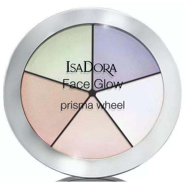 Палетки IsaDora Face Glow (50) isadora палетка хайлайтеров face sculptor strobing 20 18гр