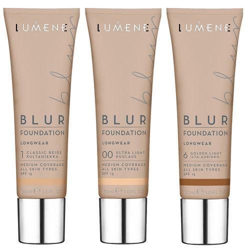 Тональный крем Lumene Longwear Blur Foundation SPF 15 (2)