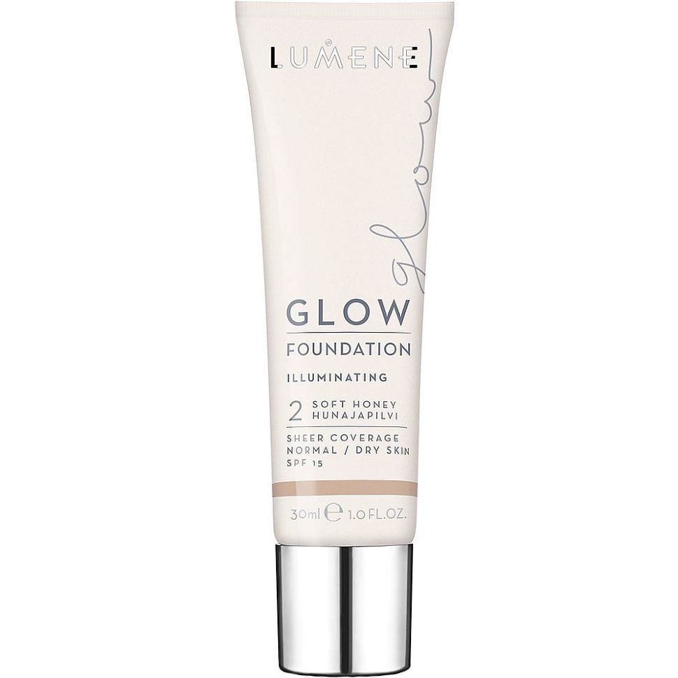 Тональный крем Lumene Glow Foundation Illuminating SPF 15 (2) cc крем illuminating foundation тон 02 ivory gosh