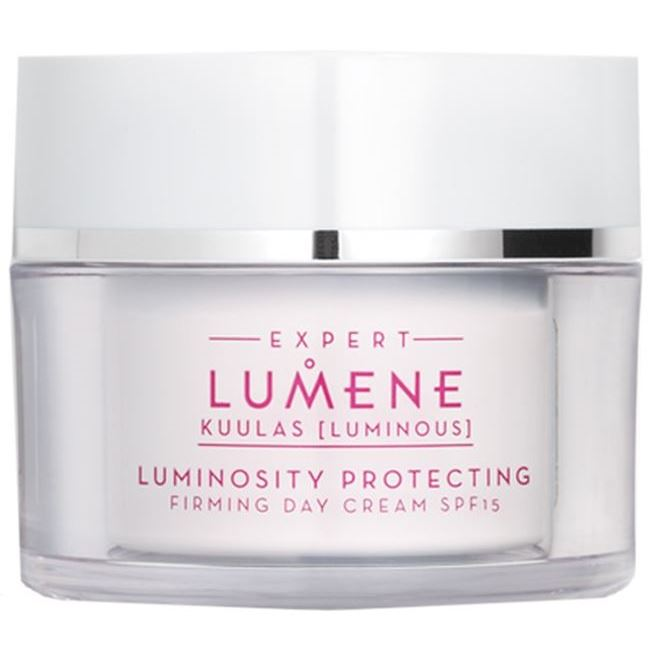 Крем Lumene Luminosity Protecting Firming Day Cream SPF 15 50 мл spa pharma увлажняющий дневной крем spf 15 для всех типов кожи spa pharma 50 мл