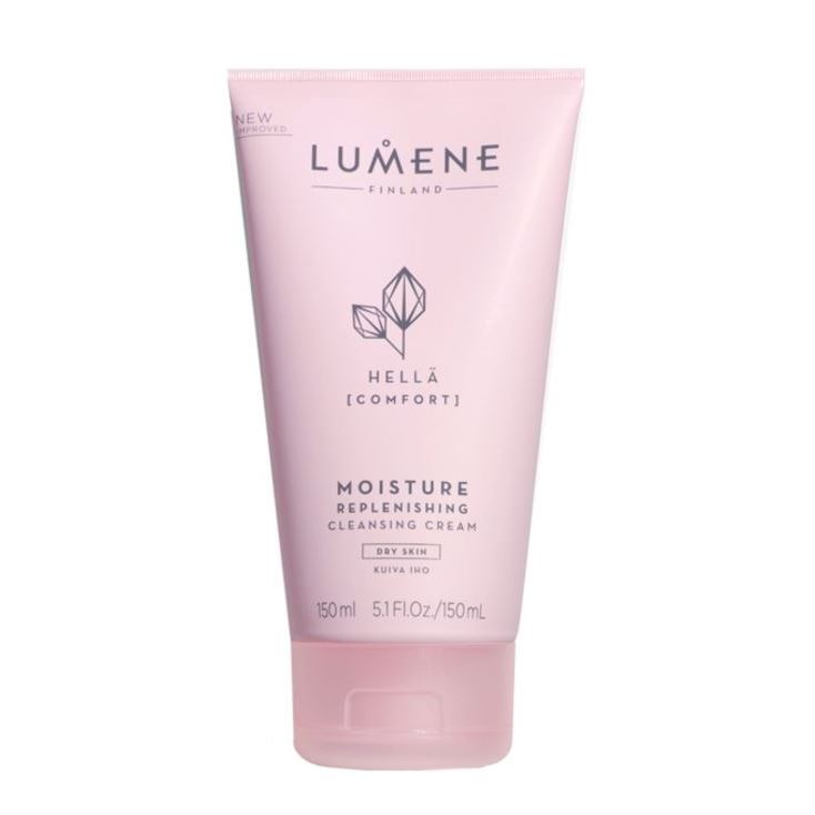 Крем Lumene Hella Moisture Replenishing Cleansing Cream 150 мл the yeon canola honey silky hand cream крем для рук с экстрактом меда канола 50 мл