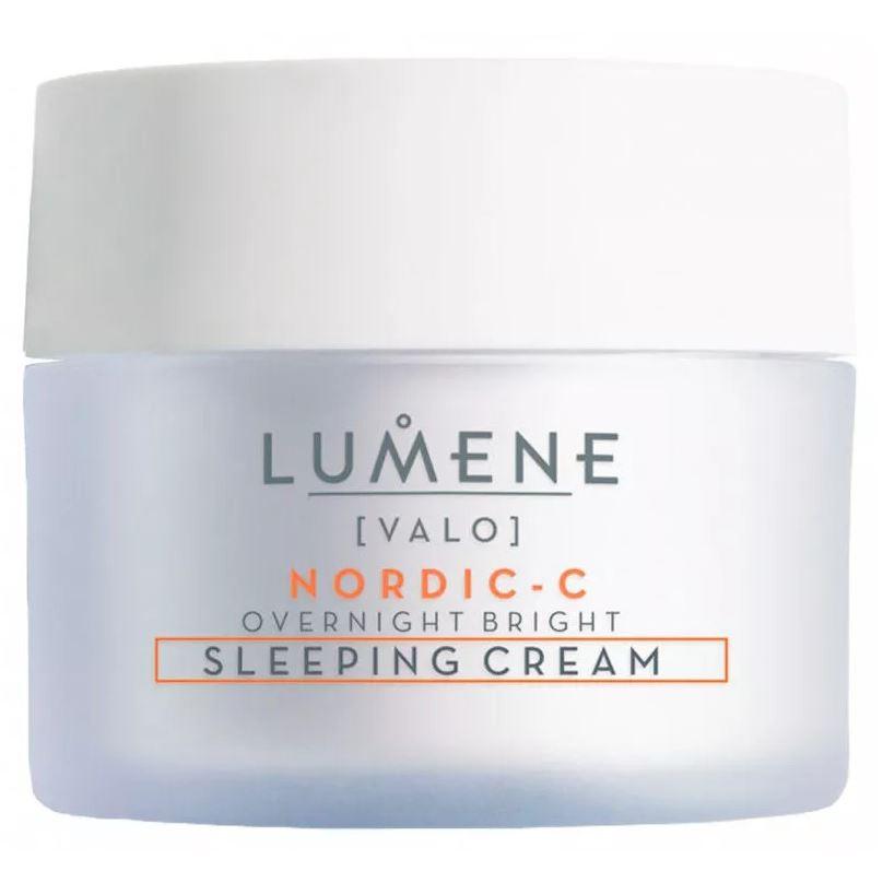 Крем Lumene Overnight Bright Sleeping Cream Contains Vitamin C  50 мл недорого