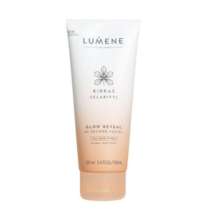 Тоник Lumene Kirkas Glow Reveal 60 Second Facial 100 мл lumene glow spf 15 тональный крем придающий сияние тон 4 30 мл