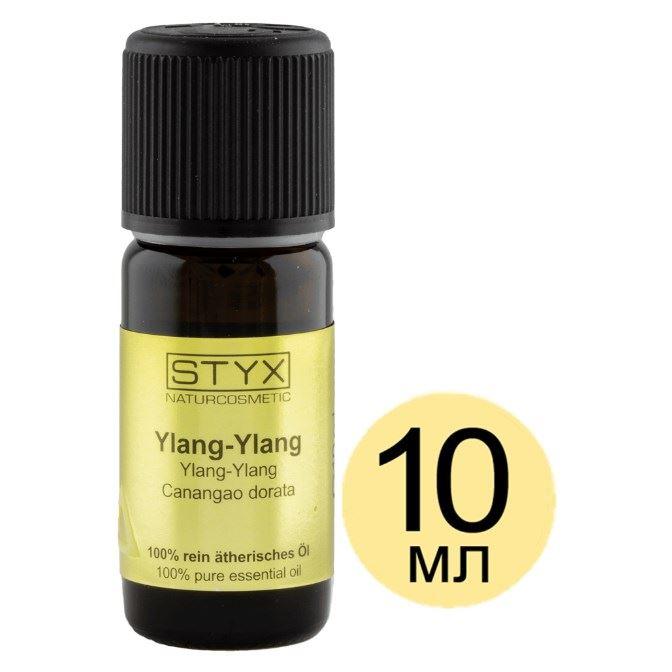 Масло эфирное STYX ИЛАНГ-ИЛАНГ (Ylang-Ylang) масло therme ylang ylang взбитое для тела