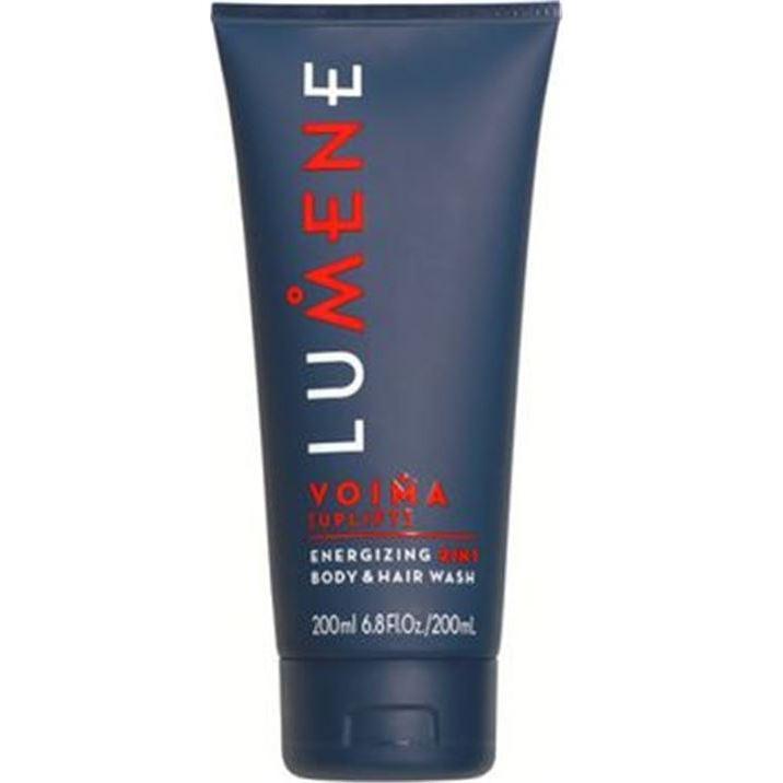 Гель Lumene Voima Energizing 2 In 1 Body & Hair Wash гели lumene lumene voima энергетическое очищающее средство 2в1 для тела и волос шампунь и гель для душа 200 мл