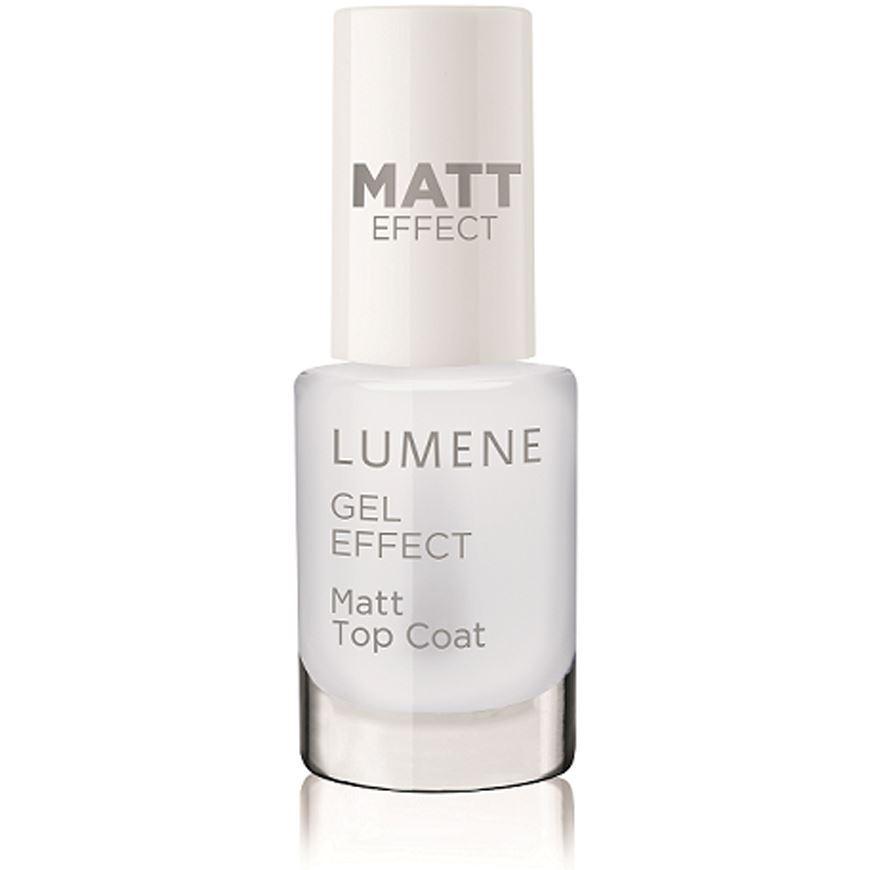 Лак для ногтей Lumene Gel Effect Matt Top Coat лак для ногтей isadora gel nail lacquer верхнее покрытие top coat 210