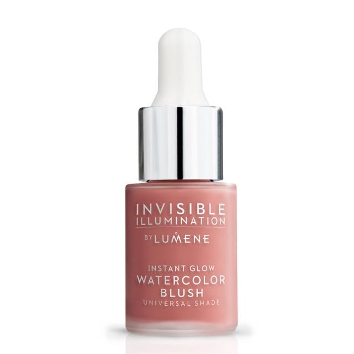 Румяна Lumene Invisible Illumination Instant Glow Watercolour Blush  (Розовый лепесток) lumene ухаживающий хайлайтер утренний свет invisible illumination 15 мл