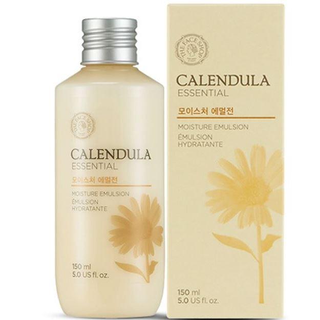 Эмульсия The Face Shop Calendula Essential Moisture Emulsion (325 г) эмульсия the face shop olive essential emulsion