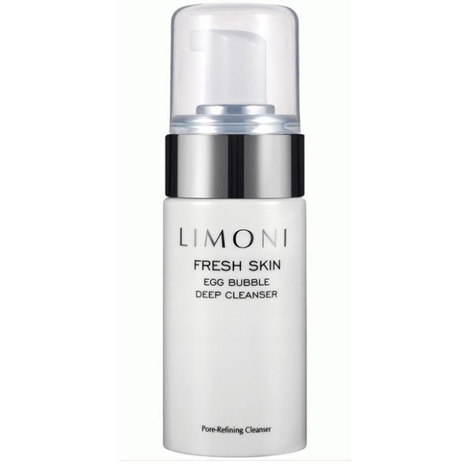 Пенка Limoni Fresh Skin Egg Bubble Deep Cleanser 100 мл пенка для умывания limoni limoni li024lwqfh30