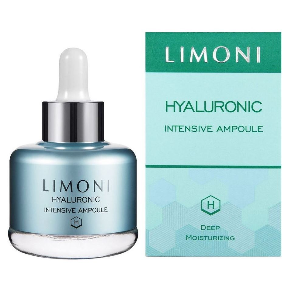 Сыворотка Limoni Hyaluronic Intensive Ampoule  25 мл сыворотка nioxin intensive therapy night density rescue