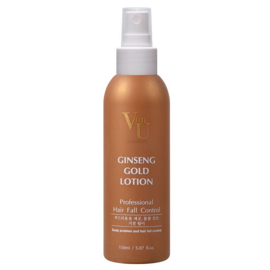 Лосьон Von-U Ginseng Gold Lotion 150 мл рефарм стимулятор роста волос лосьон 150г