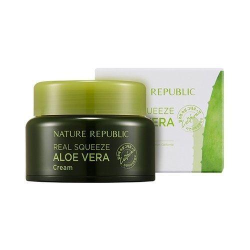 Крем Nature Republic Real Squeeze Aloe Vera Cream недорого