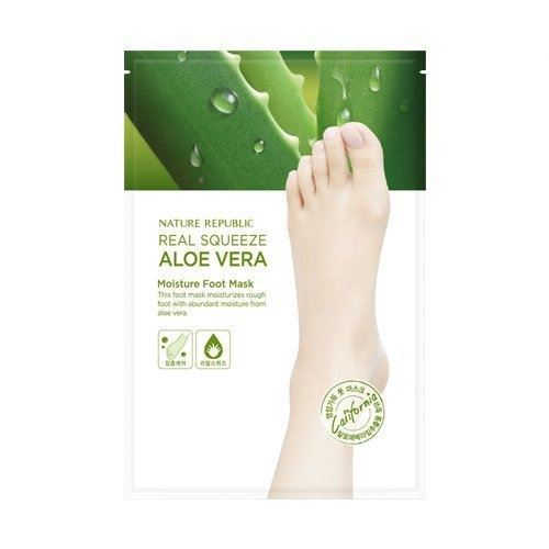 Маска Nature Republic Real Squezze Aloe Vera Moisture Foot Mask  16 мл