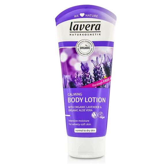 Лосьон Lavera Calming Body Lotion With Organic Lavender & Organic Aloe Vera madina olive soap 3 5 oz with aloe vera