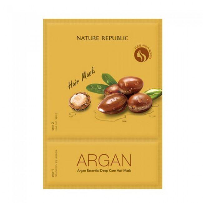 Маска Nature Republic Hair Argan Argan Essential Deep Care Hair Mask