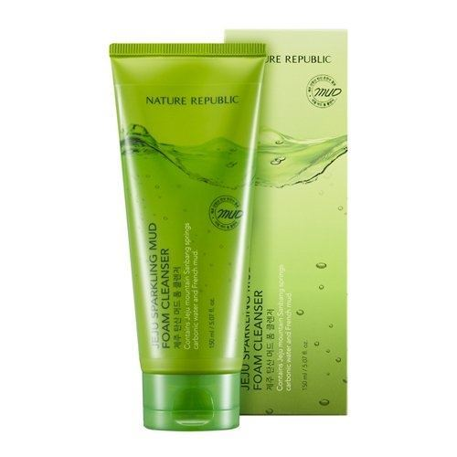 Пенка Nature Republic Jeju Sparkling Mud Foam Cleanser