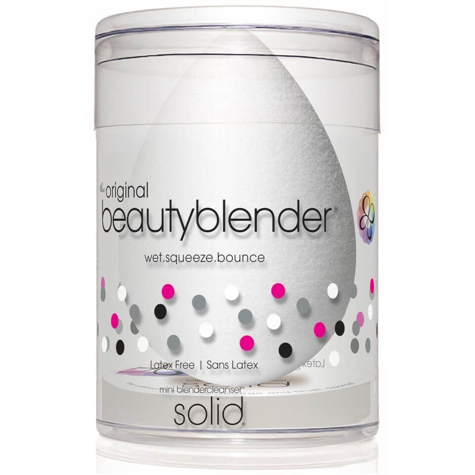 Набор: Спонж Beauty Blender Pure & Blendercleanser Solid Mini Set (Набор: спонж + мыло) недорого