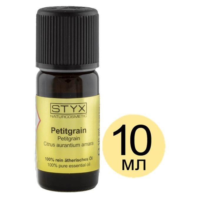 Масло эфирное STYX ПЕТИТ ГРЕЙН (Petitgrain) 10 мл гелевые термоактивные об ртывания styx