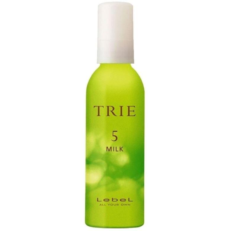 Молочко Lebel Cosmetics Trie Milk 5 140 мл lebel cosmetics trie foam 4 пена для укладки волос 200 мл