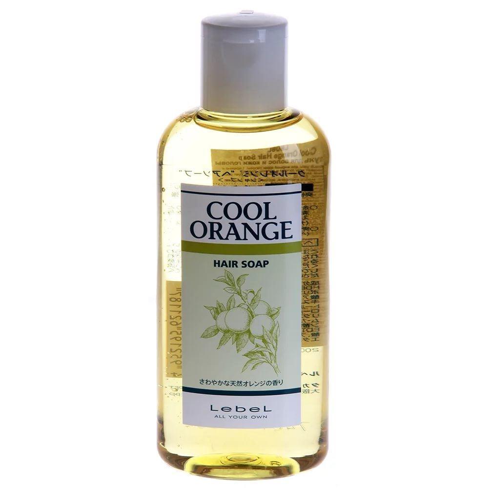 Шампунь Lebel Cosmetics Cool Orange Hair Soap Cool  200 мл lebel cosmetics cool orange sc hair soap шампунь супер холодный апельсин 600 мл