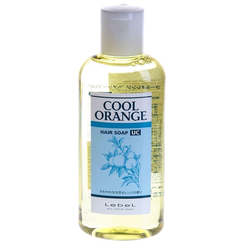 Шампунь Lebel Cosmetics Cool Orange Hair Soap Ultra Cool  200 мл lebel cosmetics cool orange sc hair soap шампунь супер холодный апельсин 600 мл