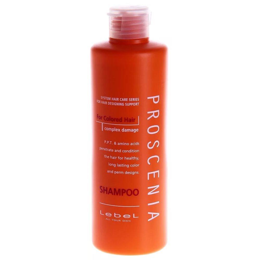 Маска Lebel Cosmetics Proscenia Shampoo 300 мл сыворотка флюид lebel лосьон для волос proscenia drying fix lebel