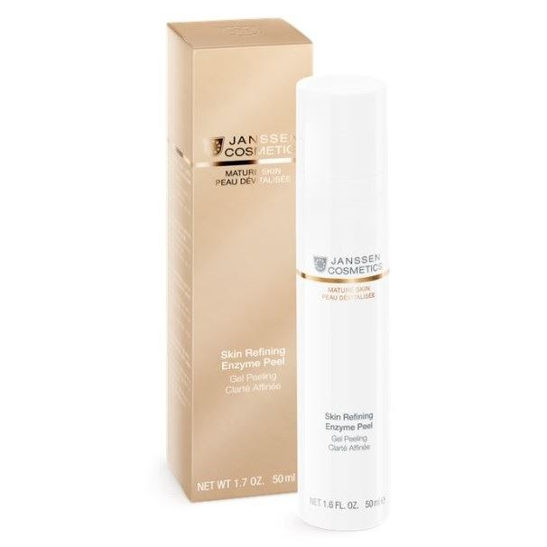 Гель Janssen Cosmetics Mature Skin Skin Refining Enzyme Peel 50 мл skin cosmetics an overview