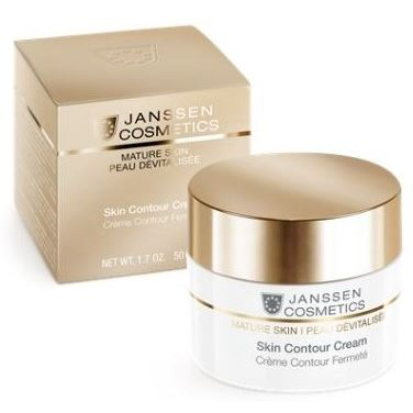Крем Janssen Cosmetics Mature Skin Skin Contour Cream janssen релаксирующий массажный крем для лица janssen dry skin relaxing massage cream 5580p 200 мл