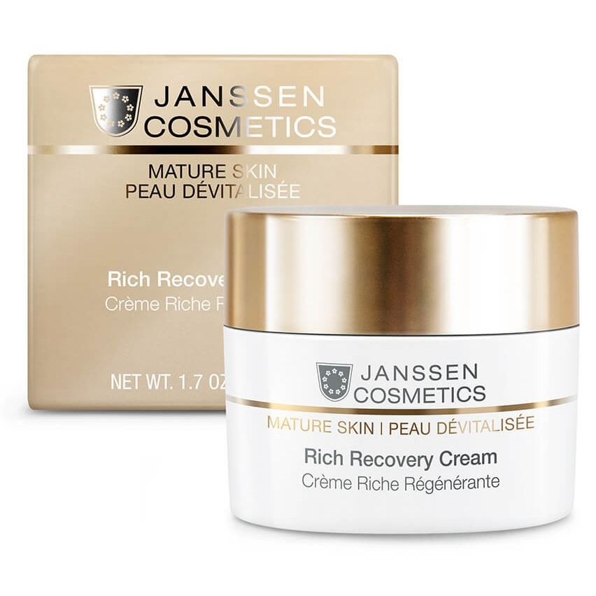 Крем Janssen Cosmetics Mature Skin Rich Recovery Cream 10 мл крем janssen cosmetics skin youth cream