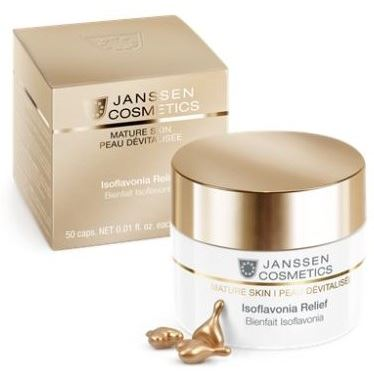Гель Janssen Cosmetics Mature Skin Isoflavonia Relief (50 капсул) венозол 360мг 36 капсулы