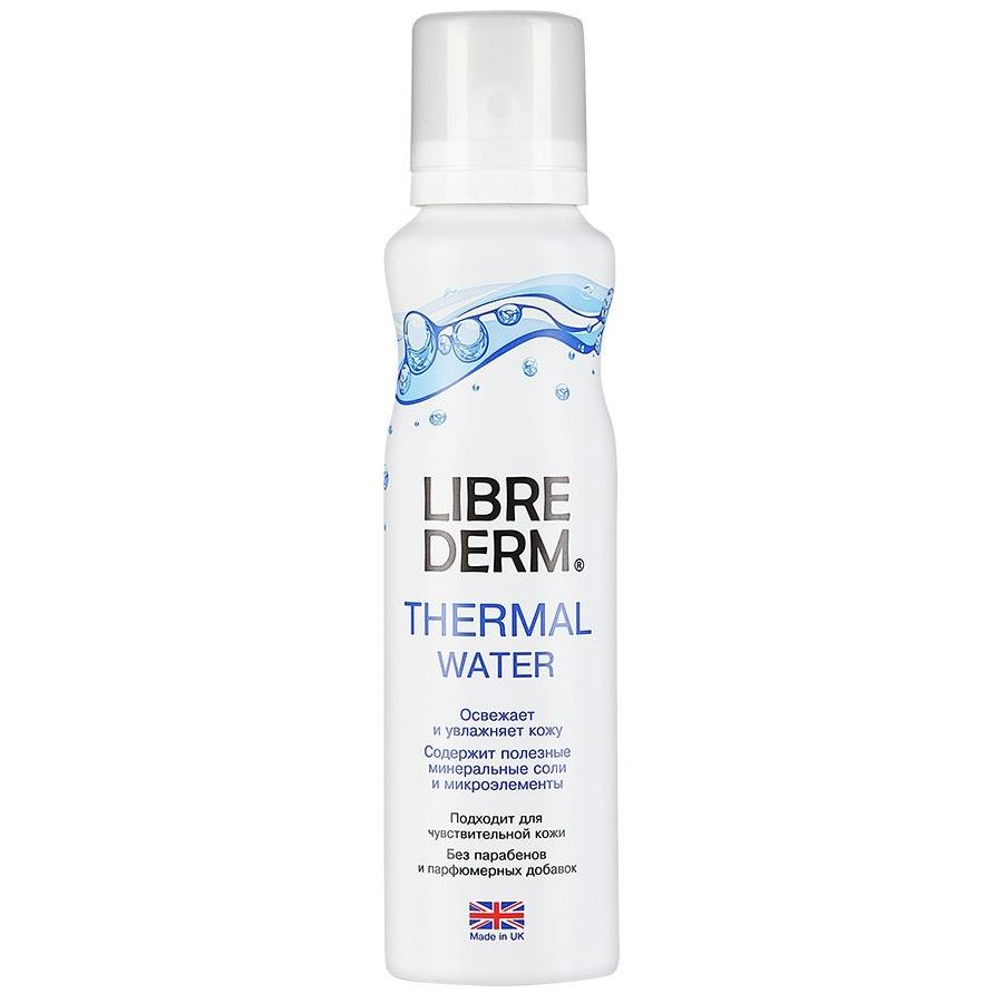 Набор Librederm Thermal Water (Набор: вода термальная, 125 мл + вода гиалуроновая, 120 мл) термальная вода освежающая и увлажняющая 125 мл