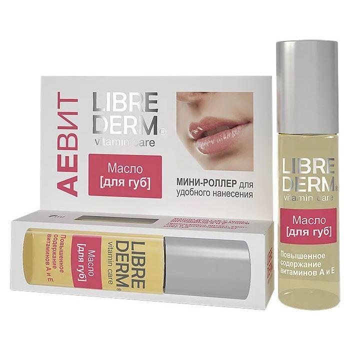 Масло Librederm Aevit A & E Vitamins Lip Oil 7 мл vichy бальзам для губ aqualia thermal 4 7 мл бальзам для губ aqualia thermal 4 7 мл 4 7 мл