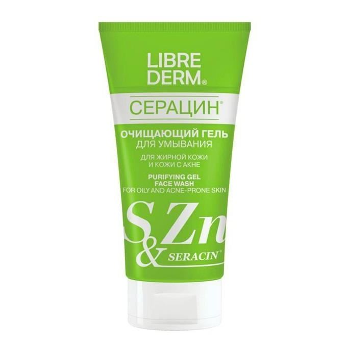 Гель Librederm Purifyng Gel Face Wash полотенца devilla полотенце bath n co цвет белый 70х140 см