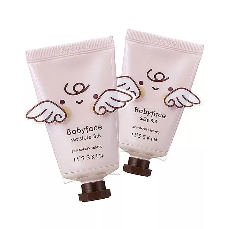 База под макияж It s Skin Babyface B.B Cream SPF30 PA++ (02 Silky) бб крем spf30 30 мл the skin house бб крем spf30 30 мл