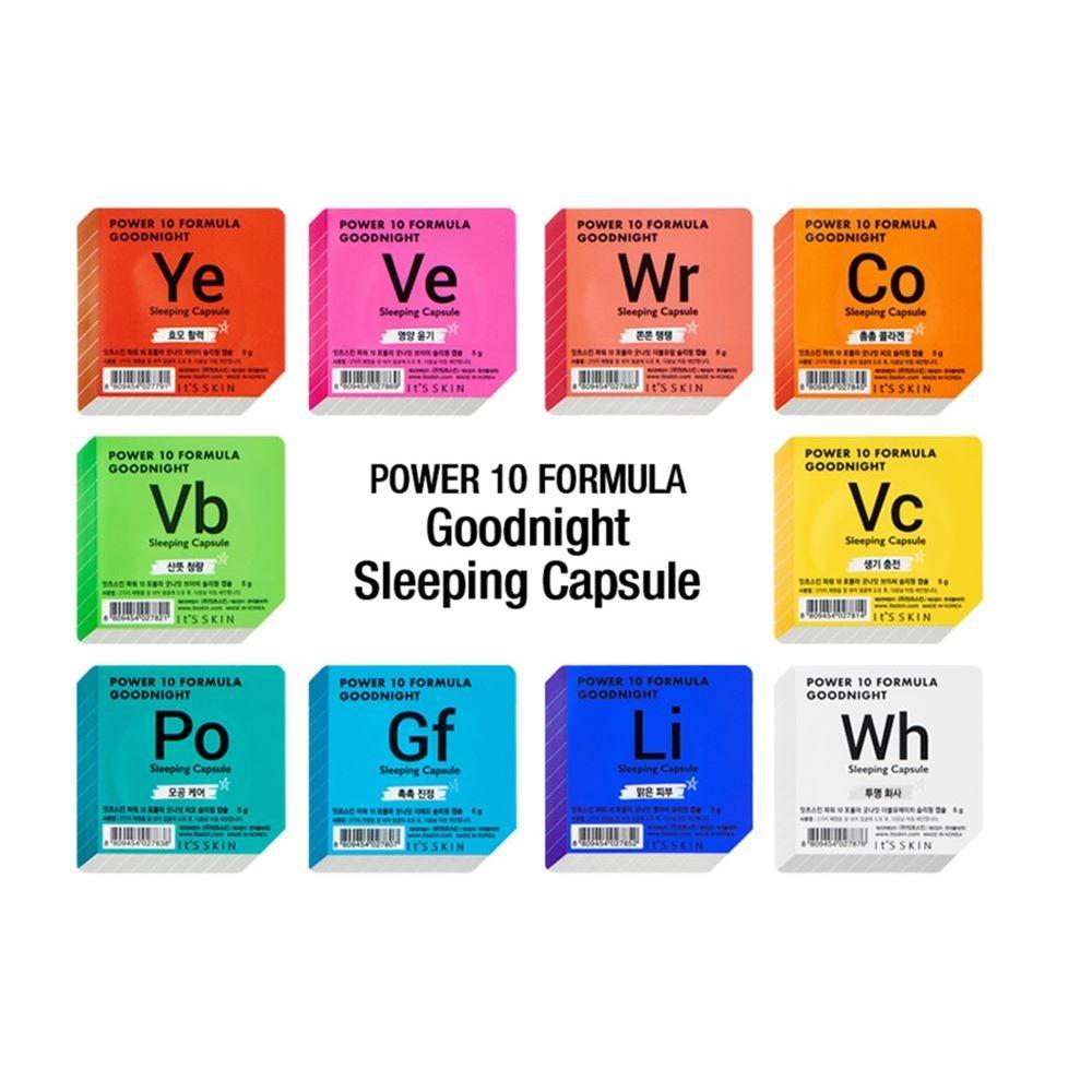 Маска It s Skin Goodnight Sleeping Capsule (YE) the skin house energy sleeping pack ночная увлажняющая маска 50 мл