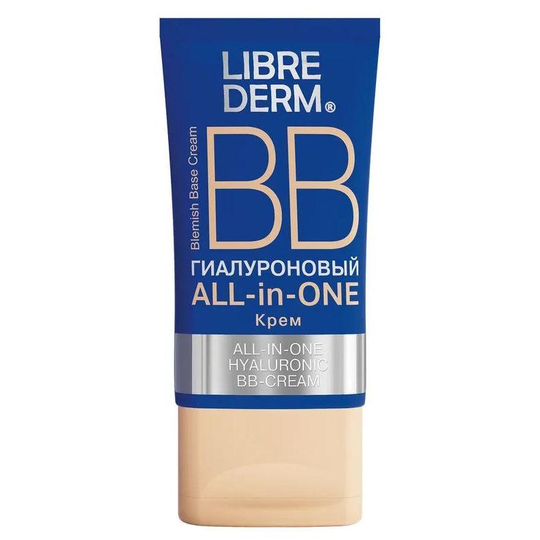 Тональный крем Librederm All-in-One Hyaluronic BB-Cream 50 мл крем limoni hyaluronic ultra moisture hand cream 50 мл
